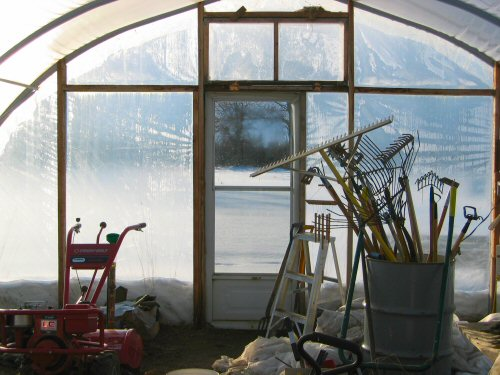 Greenhouse: it's warmer in here
