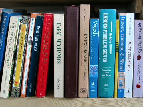 Books on farming