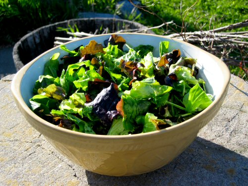First salad