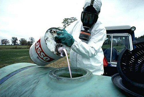 Pesticide fill-up