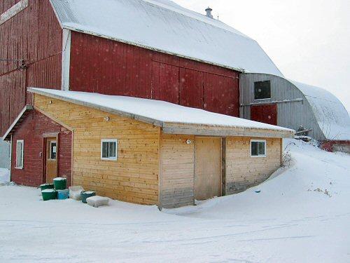 Farming from inside…