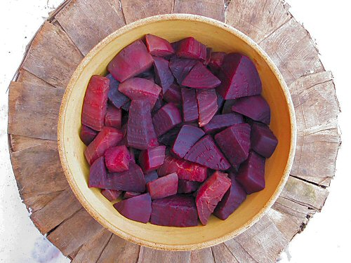 Bowl of beets