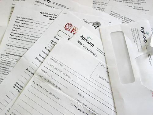 January paperwork