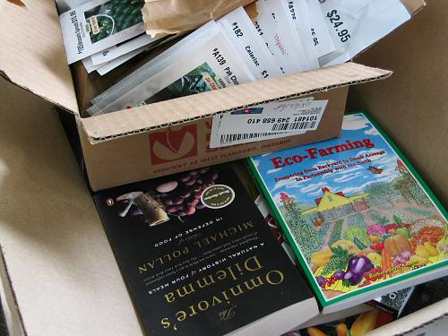 Seeds and books
