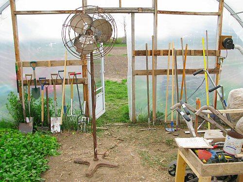 Greenhouse upgrades