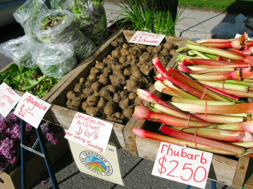 Second day at the farmers\' market