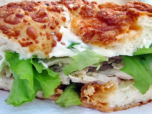 A simple (chicken!) sandwich