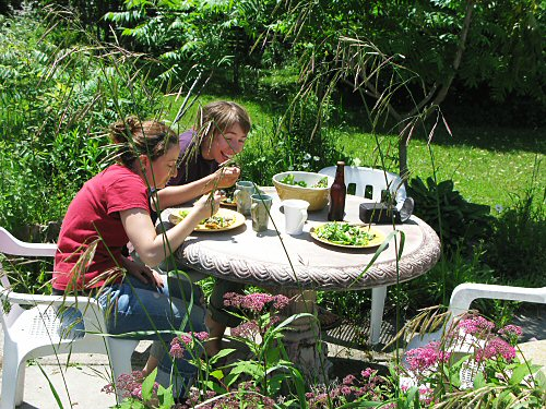 Tiny farming: it's a garden party!?