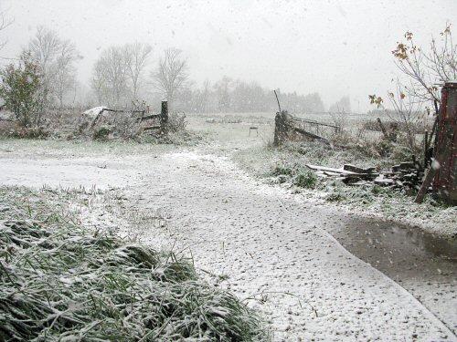 Ahhh, snow!