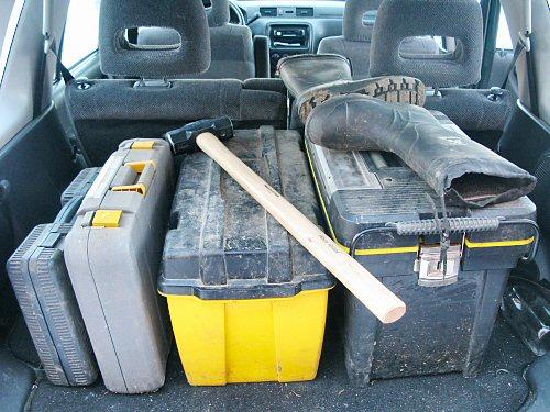 Transporting tools