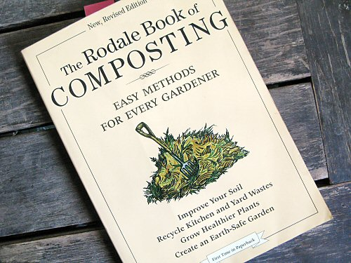 Hitting the books: Composting!
