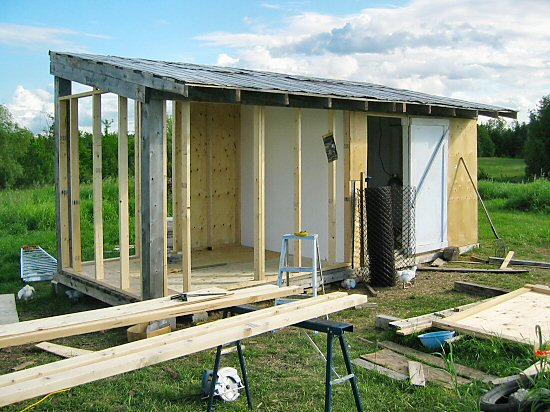 Extending the chickenhouse