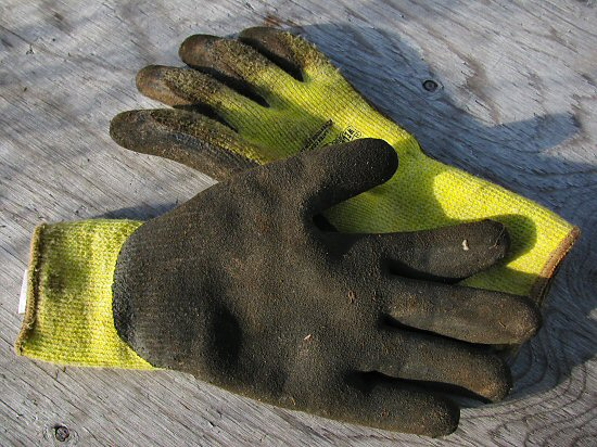 Good gloves for fall farm fieldwork