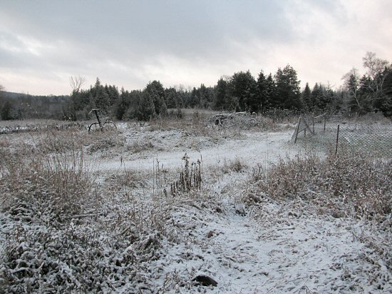 Second snow of 2009