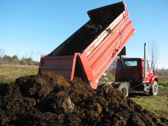 Manure delivery