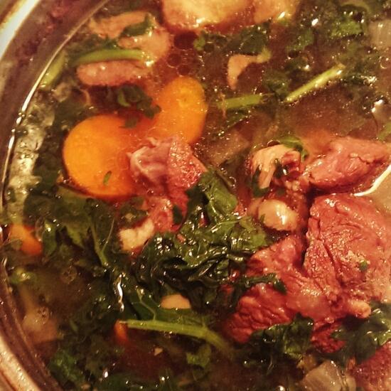 Beef meets kale