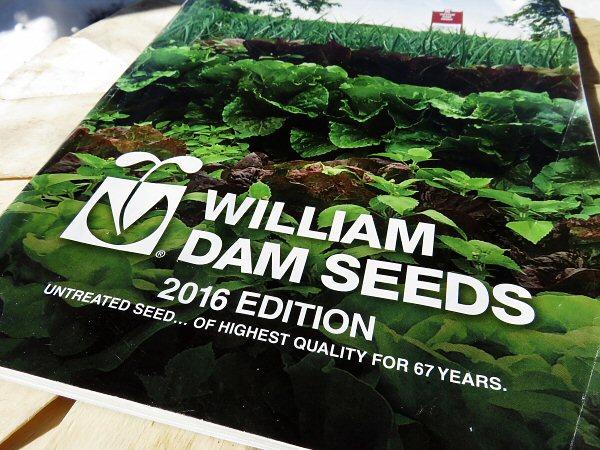 Seed catalog, 2016